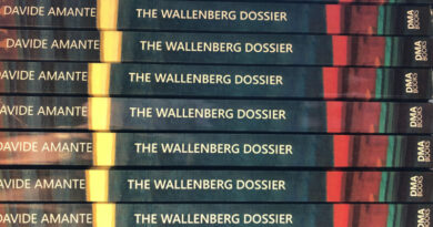 Interview with novelist Davide Amante, author of The Wallenberg Dossier