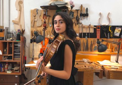 Meet Camilla Sabbatini, young Italian violinist
